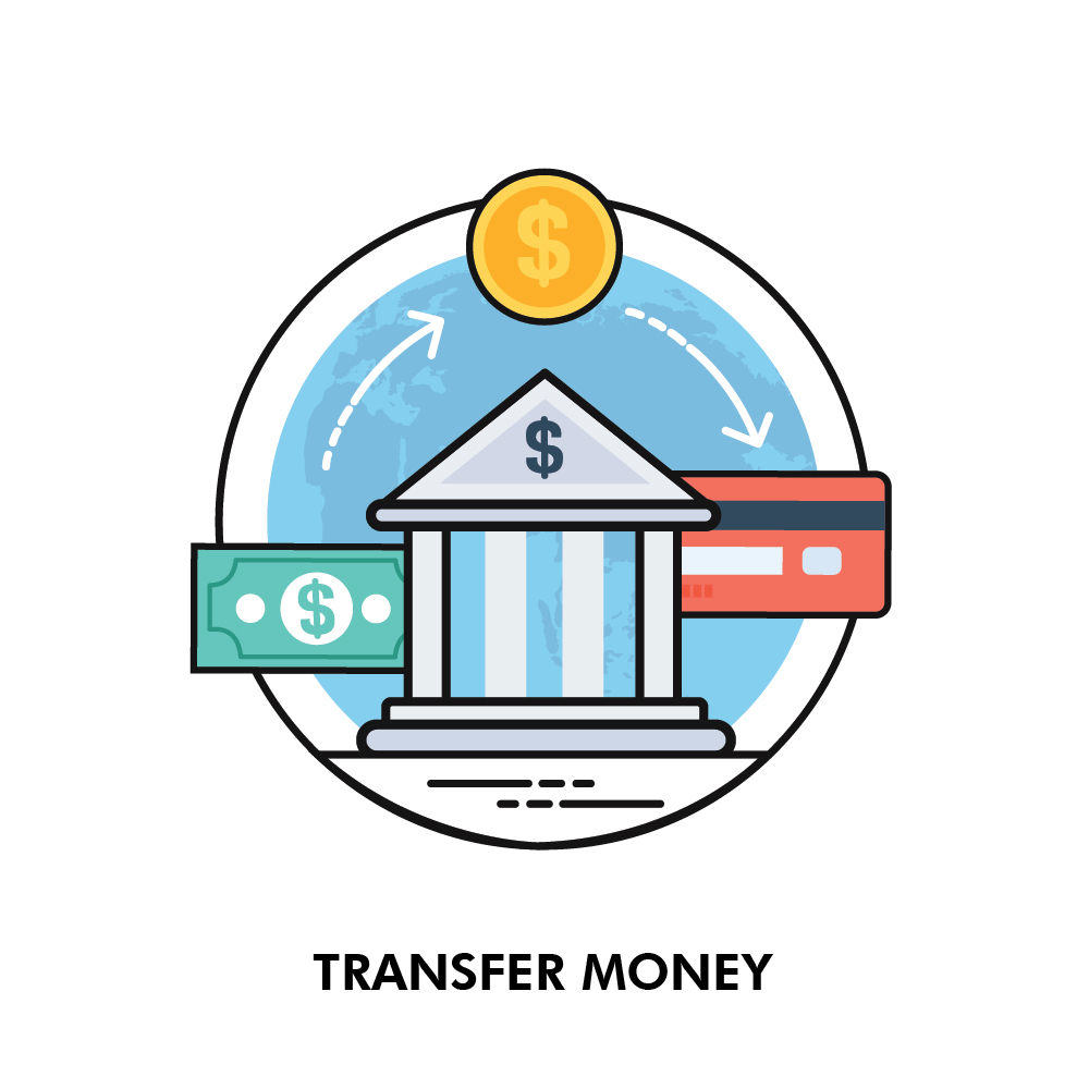 Money Transfer Send And Receive Wire
